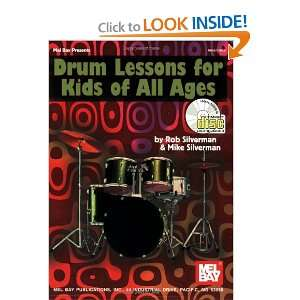 Mel Bay Drum Lessons for Kids of All Ages book/CD set