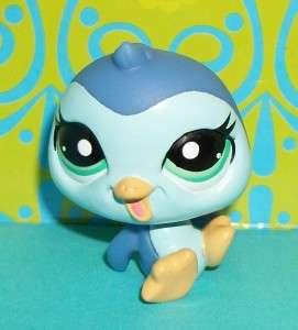 Littlest Pet Shop~#2322 BLUE BABY PENGUIN PETRIPLETS~N141 LPS RARE New