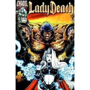 Lady Death (1998) #4: Books
