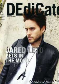 Jared Leto DEdiCate magazine issue #26 30 seconds to mars