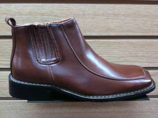 Men Brown Insulated Warm Casual Boots Size 6.5 to 10