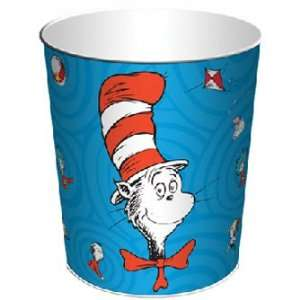 Suess Cat in the Hat Waste Basket Trash Can *SALE*