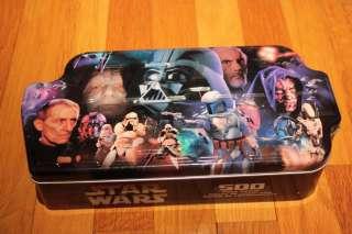 Star Wars Villians Puzzle Hasbro Tin 500 Piece Jigsaw 2002