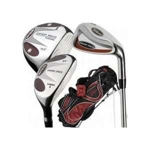 Wilson Deep Red Mens 18 piece Golf Set and Bag  Sports
