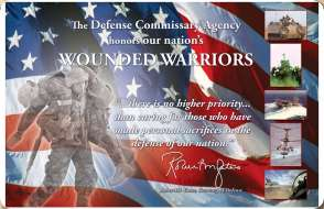 your entire donation goes directly to the wounded warrior project many