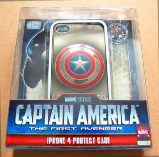 shield The First Avenger Marvel comics iPhone 4 4s case dvd vcd