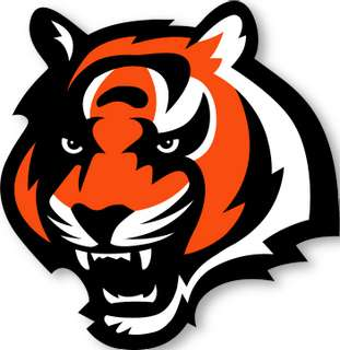 CINCINNATI BENGALS NFL Logo wall,window,sticker,decal