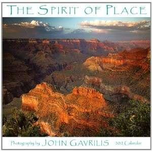 NEW THE SPIRIT OF PLACE 2012 MINI WALL CALENDAR JOHN GAVRILIS