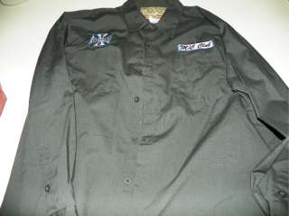 Jesse James West Coast Choppers 17.5 X 35 / 36 Embroidered Dress Shirt