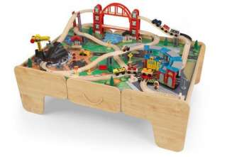 Kidkraft Limited Edition Wooden Roundhouse Train Set & Table
