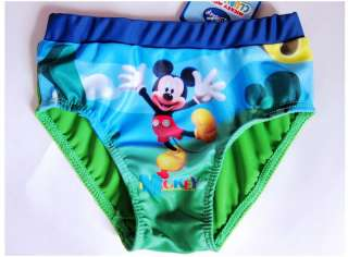 NWT DISNEY MICKEY MOUSE Kids/Boys/Toddler/Childs Swimsuits Boxers