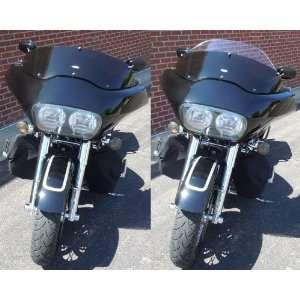 Harley Davidson Road Glide Adjustable Baggershield 7.5 11