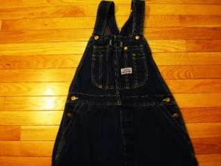 mens 60s BIG SMITH VINTAGE BIB OVERALLS 32x33 button fly work jeans