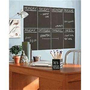 CHALKBOARD Removable Wall Sticker LARGE Roll 200cm*45cm