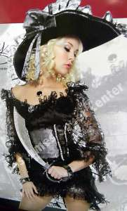 Buccaneer Beauty Sexy Womens Pirate Halloween Costume