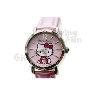 GENUINE SANRIO HELLO KITTY Quartz Leather Wrist Watch B