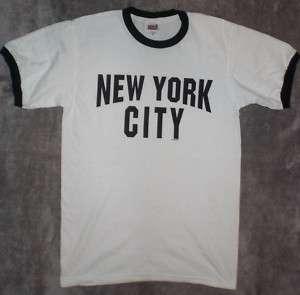 The Beatles John Lennon Style New York City T Shirt