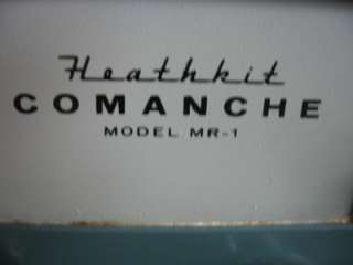 Heathkit Comanche MR 1 shortwave AM SSB morse code Mobile ham radio