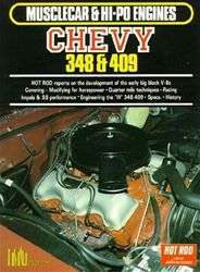 CHEVY 348 & 409 HIGH PERFORMANCE ENGINE BOOK MANUAL