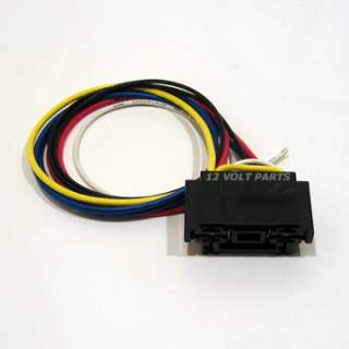 NEW 2 12V 30/40A RELAYS W/ DUAL SOCKET & 5 WIRE HARNESS
