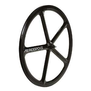 Aerospoke Front NMSW   Black 700c: Sports & Outdoors
