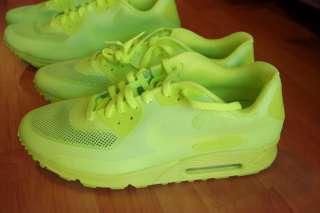 100%AUTH Nike Air Max 90 Hyperfuse Premium HYP PRM Volt Limited