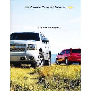 Chevy Tahoe and Suburban Sales Brochure Catalog