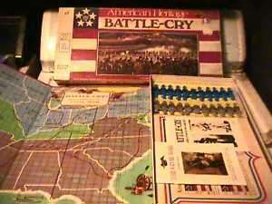 1961 MB American Heritage Battle Cry board game MIB