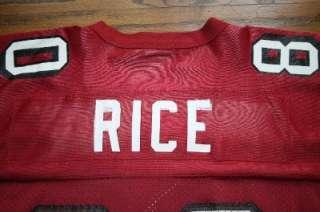 JERRY RICE SAN FRANCISCO 49ers NFL Football STARTER JERSEY Men 46/M