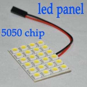 24 SMD 5050 3 Chip LED Light panel Pure White 6000K New