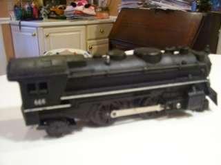 MARX Train Set w/ Rare 666 Locomotive (cylinder smoke) & Union