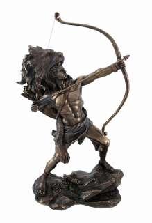 Hercules Shooting Arrow Statue Sculpture Greek Myth