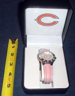 NFL LICENSED *GAME TIME* NEW IN BOX CHICAGO BEARS *LADIES* QUARTZ