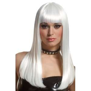 : Franco Long White Anime Vampire Emo Storm Costume Wig: Toys & Games