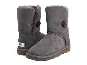 UGG Australia Womens Bailey Button Boots 5803 GREY
