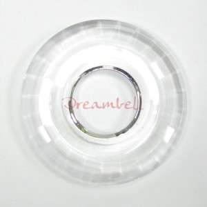 Swarovski Crystal 6039 Disk Pendant Clear 35mm NEW