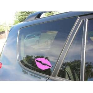 KISS MARK SOFT PINK LIPS   6 SOFT PINK   NOTEBOOK, LAPTOP, CAR, TRUCK