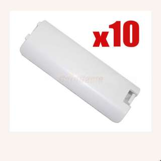10 * Battery Cover For Nintendo Wii Remote Controller