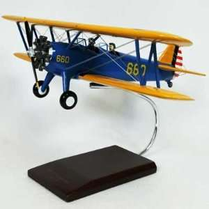 PT 17A Stearman Kaydet Model Airplane Toys & Games