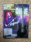 WICKED SICK SCHECTER ROBERT SMITH GUITAR AD THE CURE