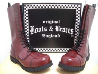 67c4b9897aa244 10 14 h. Boots   Braces Rangers Boots Skinhead Punk Oi on PopScreen