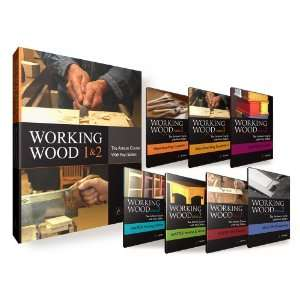 (Book + 7 DVD Se) Working Wood 1 & 2 he Arisan Course