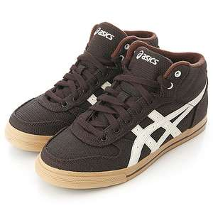BN ASICS AARON MT RCV Brown/Off White Shoes #26