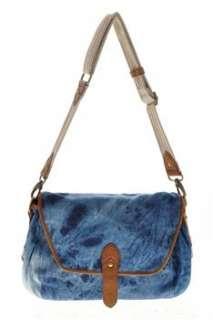 Steve Madden BHFO Messenger Medium Handbag Blue Bag