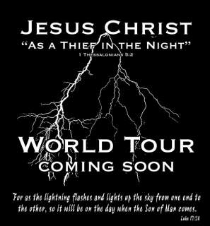 Jesus Christ Coming Soon 100% T shirt, Christian, Bible Scripture