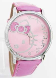 Piece Hello Kitty School student watch Lot Mix 3 different Color