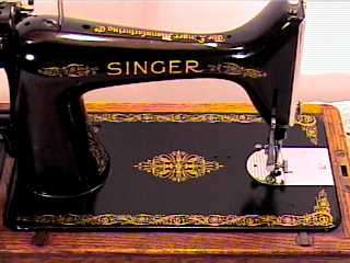 1935*SINGER HAND CRANK SEWING MACHINE*MODEL 99*NICE*