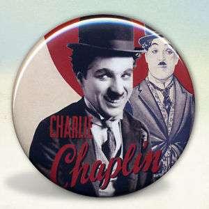 Charlie Chaplin Silent Film Star Pocket Mirror Tartx