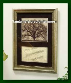 NEW   DO IT ANYWAY POEM by MOTHER TERESA FRAMED WALL PLAQUE TREE