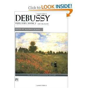 Editions) (9780739023242): Claude Debussy, Maurice Hinson: Books